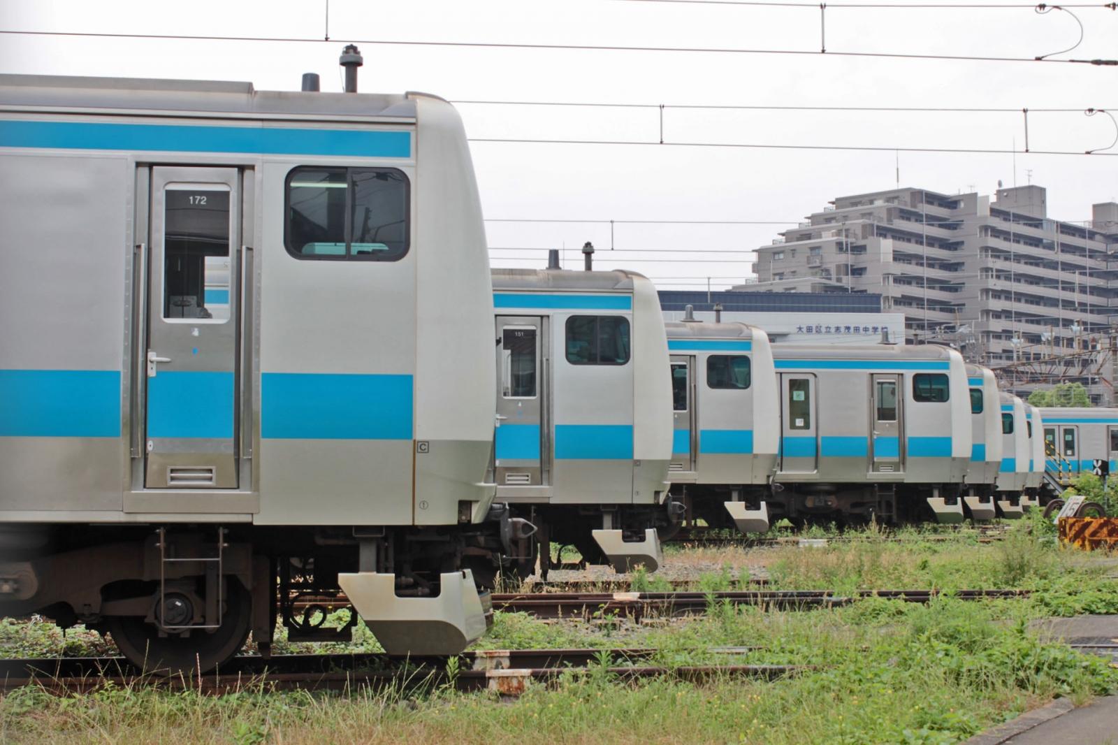 大田運輸区にいた「謎の車両」。: 鉄分補給〜時々ホビーの話でも。